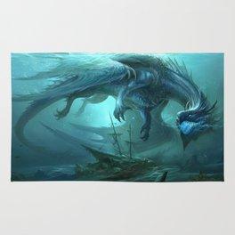 Blue Dragon v2 Rug