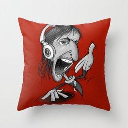 David Guetta Throw Pillow