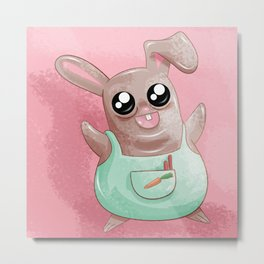 Bunny Rabbit Metal Print