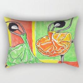 Twin Sister's Rectangular Pillow