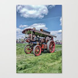 "Showmans Engine ""Lord Nelson"" Desatuated Canvas Print"