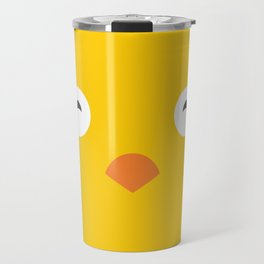 Yellow Chick Travel Mug