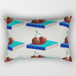 Beautiful illustration of vegan life Rectangular Pillow