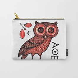 Athena's Owl Carry-All Pouch