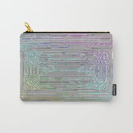 Free Rainbow Border Carry-All Pouch