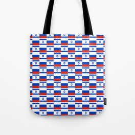 Mix of flag : israel and Russia Tote Bag