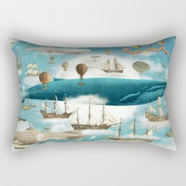 Ocean Meets Sky - book cover Rectangular Pillow