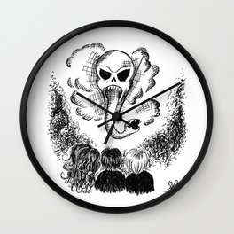 Morsmordre Wall Clock