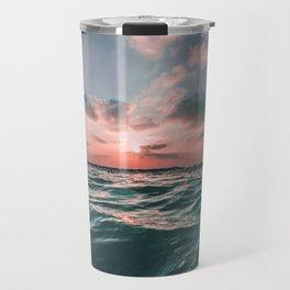 Sunset Tide Travel Mug