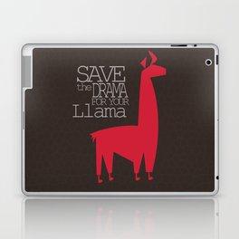 Save the Drama for your Llama Laptop & iPad Skin