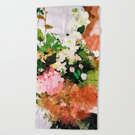 Floral Gift || Beach Towel
