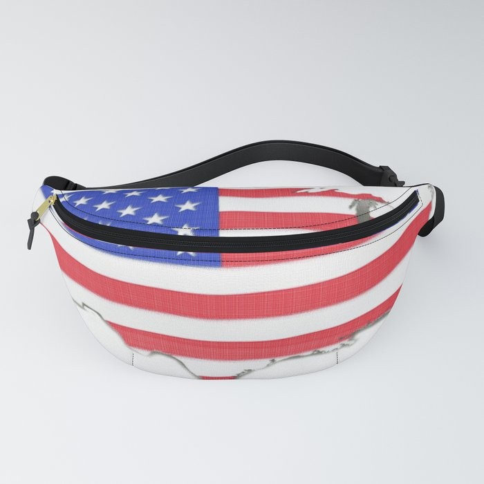 USA map Fanny Pack