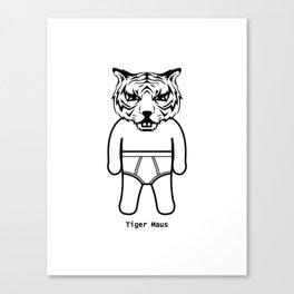 Tiger Maus Canvas Print