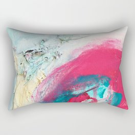 Untitled (Carrying On) Rectangular Pillow