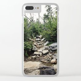 Wilmington Trail II Clear iPhone Case