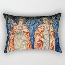 "John Henry Dearle ""Angeli Ministrantes"" Rectangular Pillow"