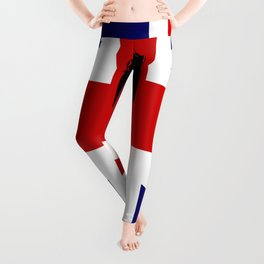 Union Flag Big Ben Leggings