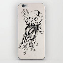 Space Skull Octopus Monster iPhone Skin