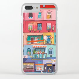 BP frontage Clear iPhone Case