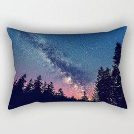 Milky Way IV Rectangular Pillow