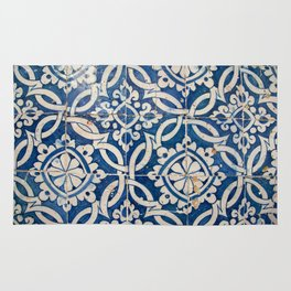 Vintage portuguese azulejo Rug