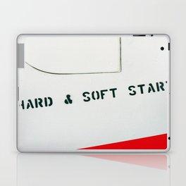 HARD & SOFT START Laptop & iPad Skin