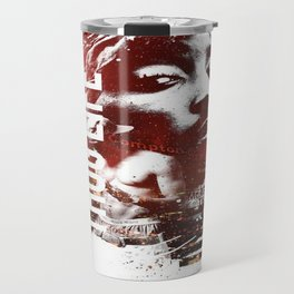 2PAC's portrait Travel Mug