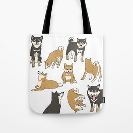 I love Shiba inu! Tote Bag