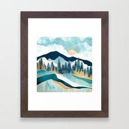 Summer Forest Framed Art Print