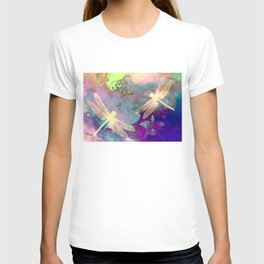 Painting Dragonflies and Orchids A T-shirt
