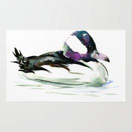 Bufflehead Duck Rug