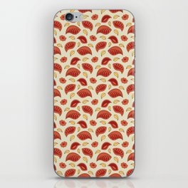 """Background abstract pattern """"Autumn leaves"""", vector, texture design. iPhone Skin"""