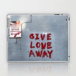 Give Love Away Laptop & iPad Skin