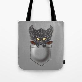 Dragon Pocket Tee Tote Bag