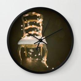 Bokeh Chair Wall Clock
