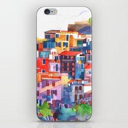 Cinque Terre vol2 iPhone Skin