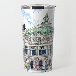 Palais Garnier, Paris Travel Mug