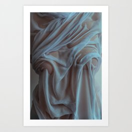 the marble Art Print