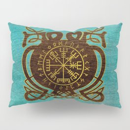 Vegvisir - Viking  Navigation Compass Pillow Sham