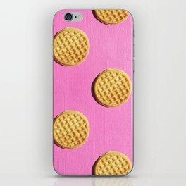 Eggo Waffle by Turbobambi iPhone Skin