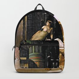 The Death Of Cleopatra Backpack