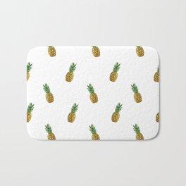 Pineapples Summer Bath Mat
