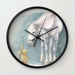 Velveteen Rabbit Wall Clock
