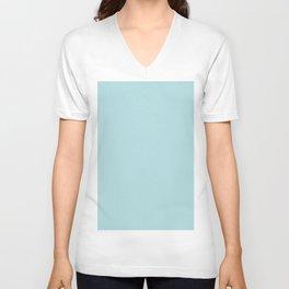 Simply Pretty Blue Unisex V-Neck