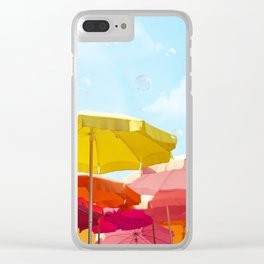 Sunny day in Cinque Terre Clear iPhone Case