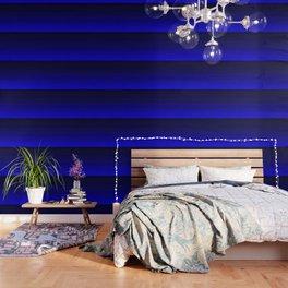 Deep Rich Sapphire Ombre Wallpaper