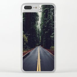 The woods have eyes Clear iPhone Case