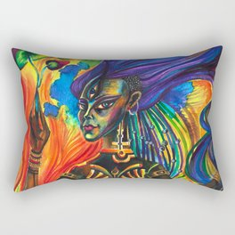 African Goddess Rectangular Pillow