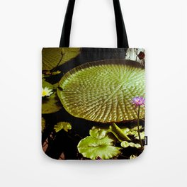 Life Upon A Lily Pad Tote Bag