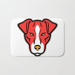 Plummer Terrier Dog Front Mascot Bath Mat